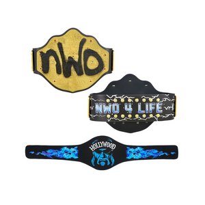 Hollywood Hogan Signature Series Championship Replica Title