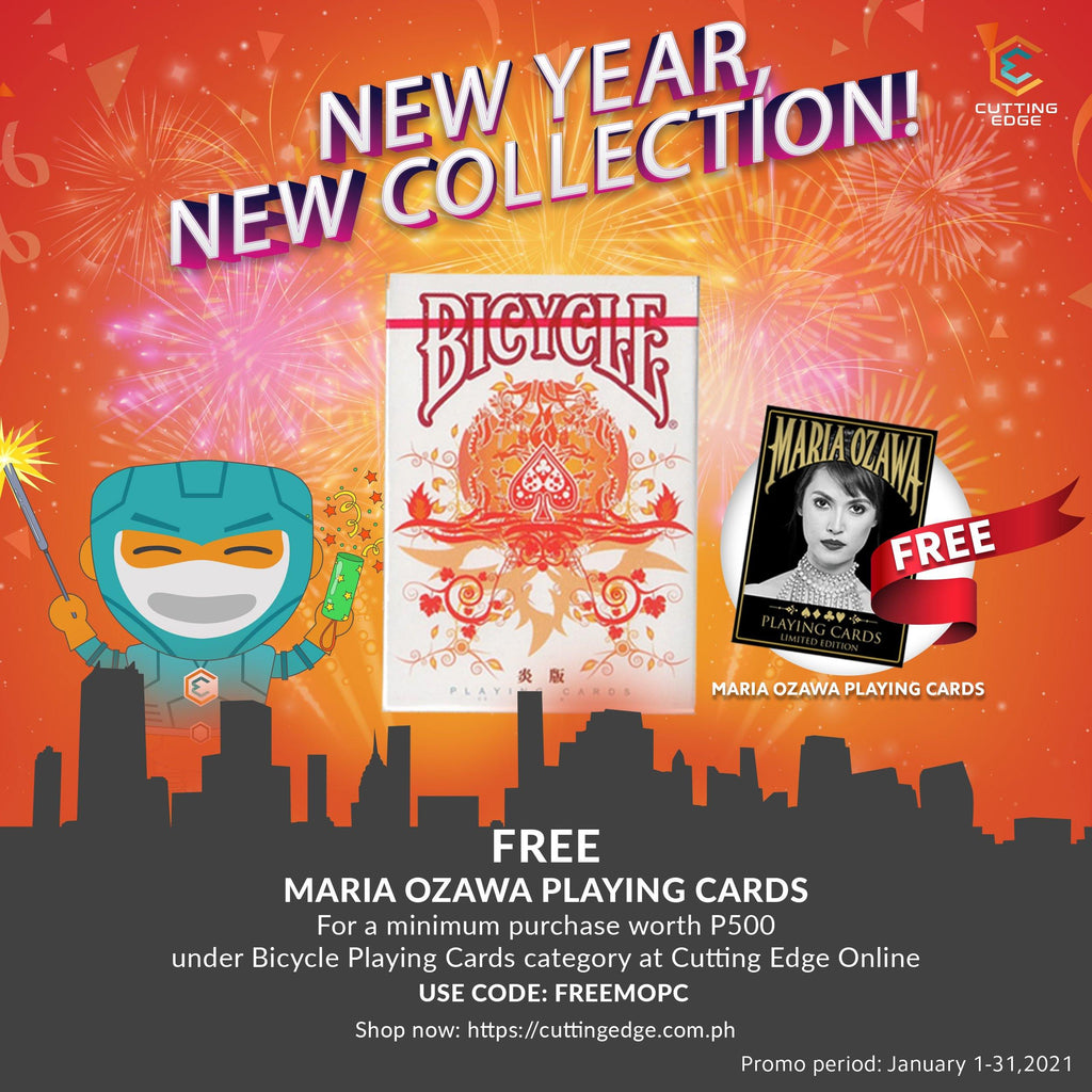 FREE - (1) MARIA OZAWA PLAYING CARDS
