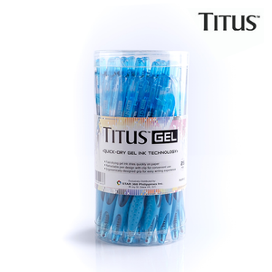 25pcs - Titus QuickDry Gel Pen Retract