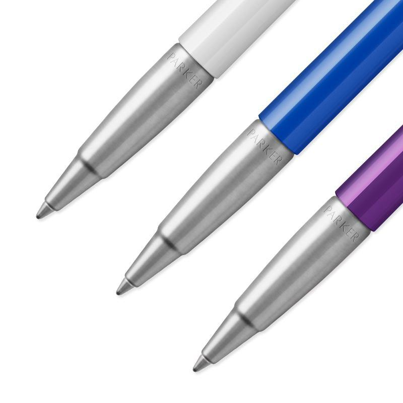 Parker Vector Gift Set - Blue Ink (Purple / White / Blue)
