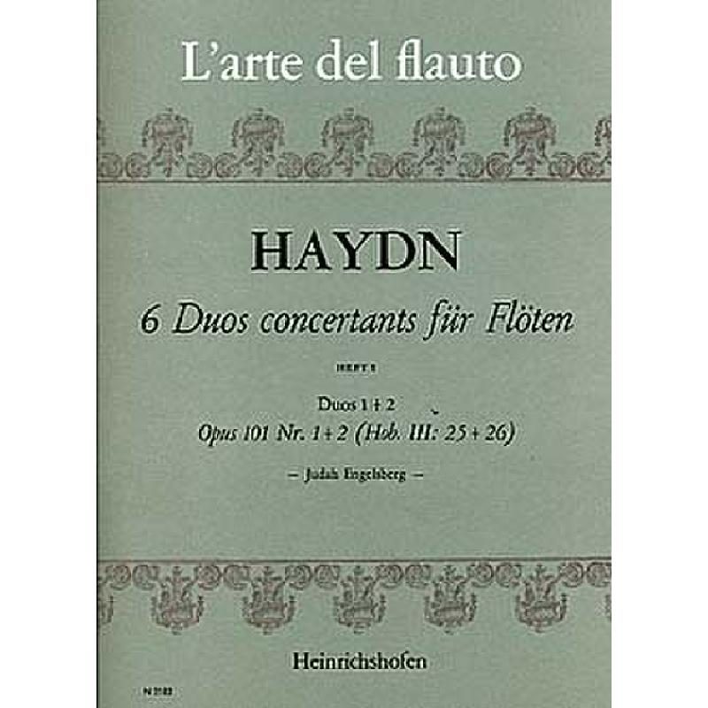 Duos Concertants (6) Op. 101 Vol. 1: Nos. 1 & 2 (Two Flutes)