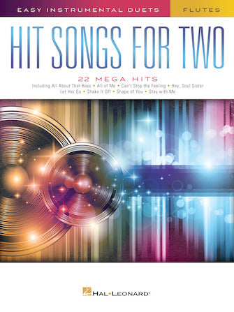 Hit Songs for Two Flutes (Popular Arrangements)