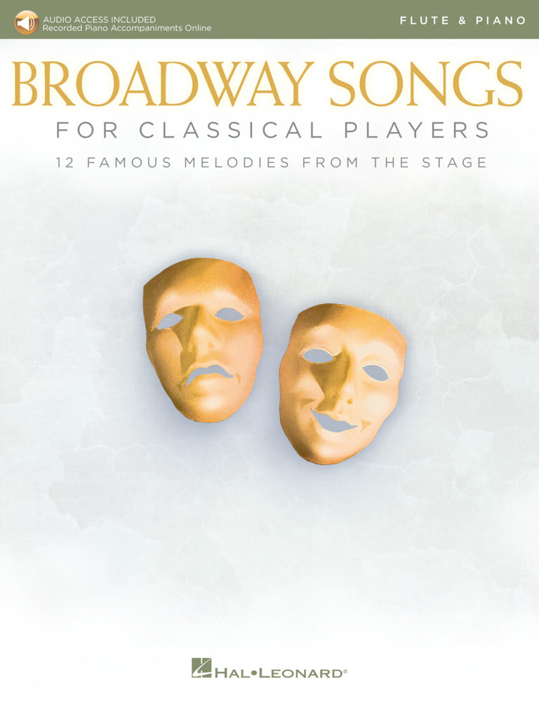 Broadway songs for classical players (Flute and Piano)