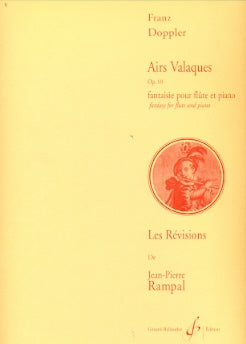 Airs Valaques, Op.10 (Flute and Piano)