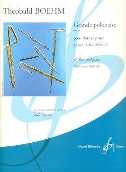 Grand Polonaise in D Major, Op.16 (flute and piano)