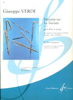 Fantaisie Sur La Traviata (flute and piano)