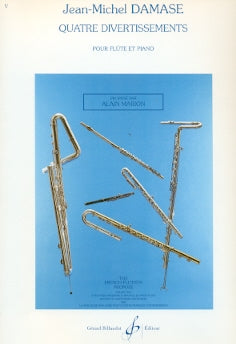Quatre Divertissements (Flute and Piano)