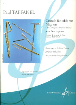 "Grande Fantaisie on Themes from ""Mignon"" (Flute and Piano)"