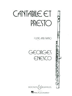 Cantabile et Presto (Flute and Piano)
