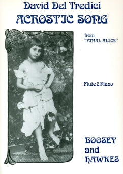 Acrostic Song (Flute and Piano)