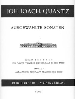 Flute Sonata No. 2 in B Flat Major (Flute and Piano)