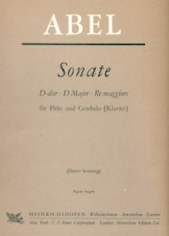 Sonata in D Major (Flute and Piano)
