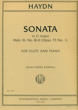 Sonata in G major (Flute and Piano)