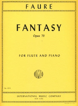 Fantasy, Op. 79 (Flute and Piano)