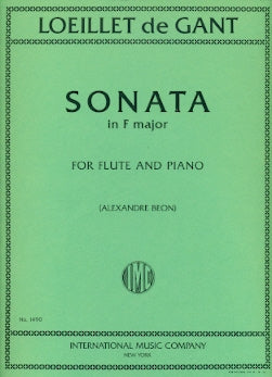 Sonata in F Major (Flute and Piano)