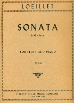 Sonata in G Minor (Flute and Piano)