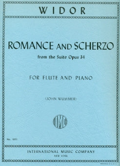 Romance and Scherzo, Op. 34 (Flute and Piano)