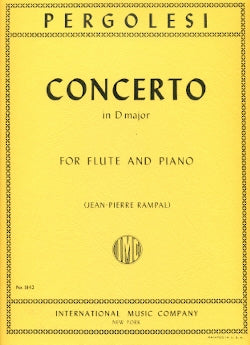 Concerto in D Major (Flute and Piano)