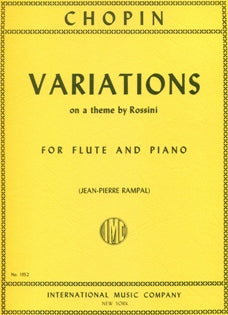 Variations on a Theme by Rossini (Flute and Piano)