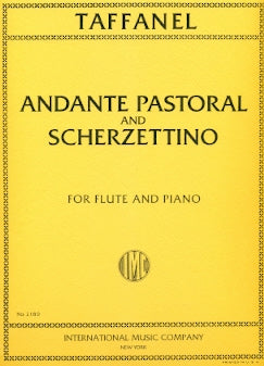 Andante Pastoral and Scherzettino (Flute and Piano)