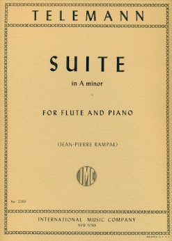 Suite in A minor (Flute and Piano)