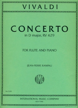 Concerto in D Major, RV429 (Flute and Piano)
