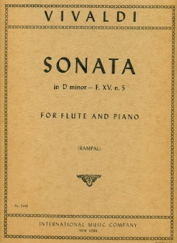 Sonata in D minor, RV49 (Flute and Piano)