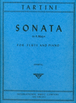 Sonata in A Major (Flute and Piano)