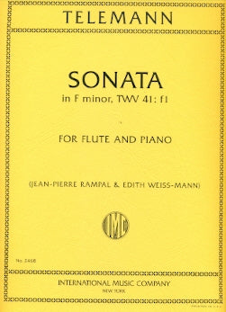 Sonata in F minor (Flute and Piano)