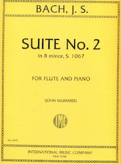 Suite No. 2 in B Minor, BWV 1067 (Flute and Piano)