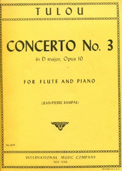 Concerto No. 3 in D Major (Flute and Piano)