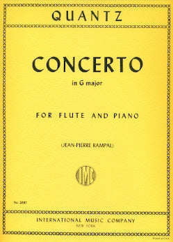 Concerto in G Major (Flute and Piano)