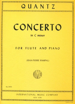 Concerto in C minor (Flute and Piano)