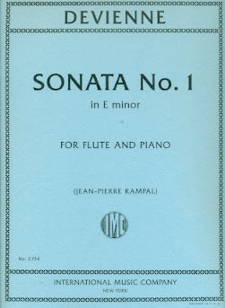 Sonata in E minor, Op. 58, No. 1 (Flute and Piano)