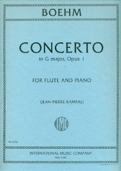 Concerto in G Major, Op. 1 (Flute and Piano)