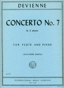 Concerto No. 7 in E minor (Flute and Piano)