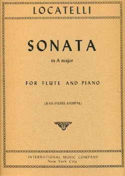 Sonata No. 6 in A Major (Flute and Piano)