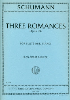 Three Romances, Op. 94 (Flute and Piano)
