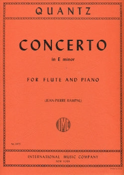 Concerto in E Minor (Flute and Piano)
