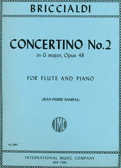 Concerto No. 2 in G Major, Op. 48 (Flute and Piano)