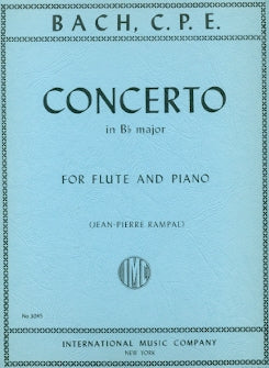 Concerto in B-flat Major (Flute and Piano)