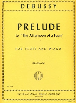 Prélude à l'après-midi d'un faune (Prelude to The Afternoon Of A Faun) (Flute and Piano)