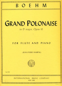 Grand Polonaise in D Major, Op. 16 (Flute and Piano)
