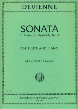 Sonata in A Major, Op. 68, No. 4 (Flute and Piano)