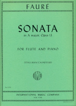 Sonata in A major, Op. 13 (Flute and Piano)