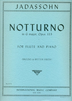 Notturno in G Major, Op. 133 (Flute and Piano)