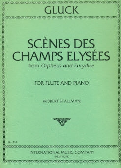 "Scenes of the Champs Eylsees (from ""Orpheus and Eurydice"") (Flute and Piano)"