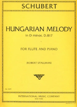 Hungarian Melody in D Minor, D817 (Flute and Piano)