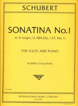 Sonatina No. 1 in D Major, D384 (Flute and Piano)