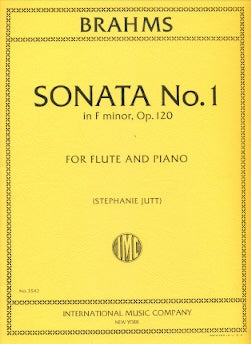 Sonata in F Minor, Op. 120, No. 1 (Flute and Piano)